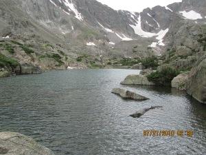 Sky Pond - Rocky Mountains