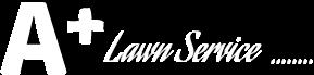 A PLus Lawn Service Logo
